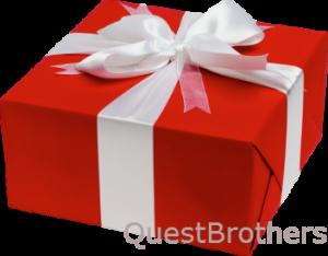 Оригинальный подарок - прохождение квеста